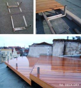 System Deski Tarasowej Deck-Dry zdjęcie z realizacji