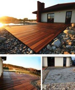 Tarasy Drewniane Deck-Dry fotografia domu