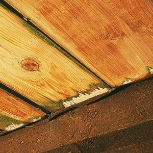 Tarasy Drewniane Tradycyjne zdjęcie korozji drewna