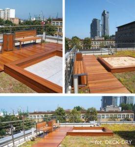 Tarasy na Dachu Domu Deck-Dry Trójmiasto