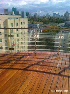 Tarasy to ładne widoki - montaż Deck-Dry