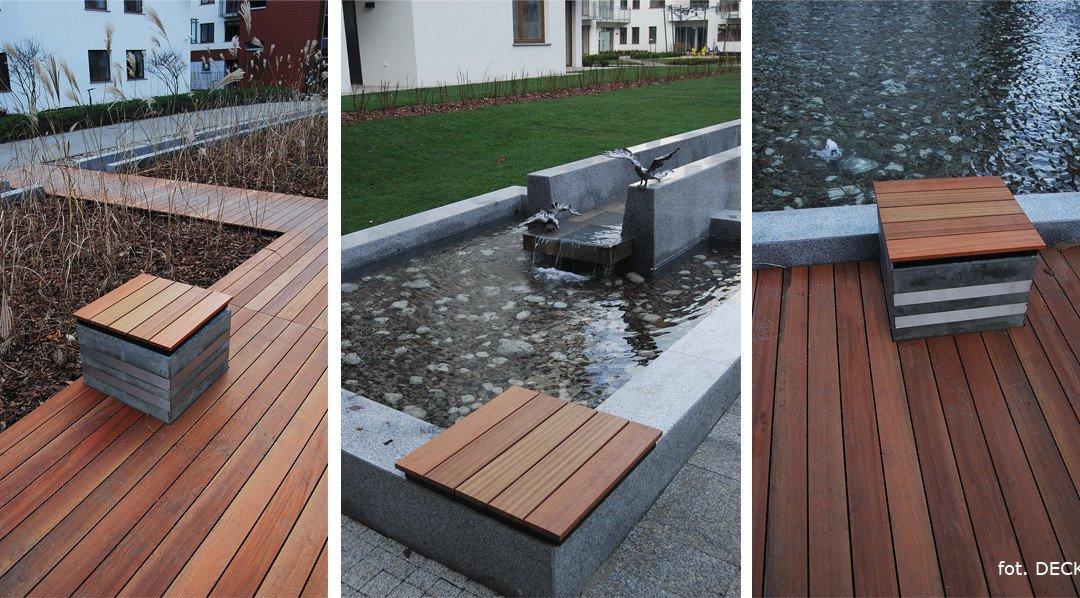 Ławki drewniane deska gładka Gdynia, Gdańsk, Sopot – pomorskie