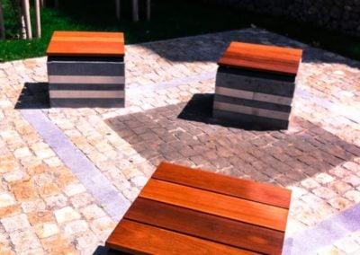 Architektura ogrodowa drewniana - meble Deck-Dry