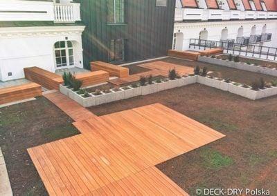 Budowa Tarasów Hotel Deck-Dry małopolska