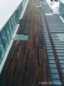 Budowa tarasu drewnianego Deck-Dry małopolska