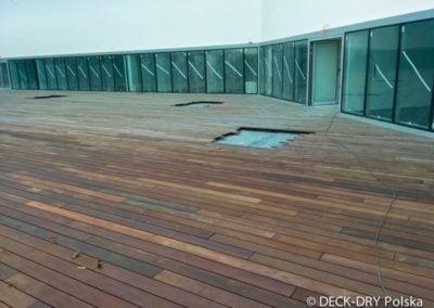 Budowa tarasu drewnianego Deck-Dry Warszawa