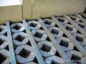 Budowa tarasu drewnianego na piasku Deck-Dry małopolska