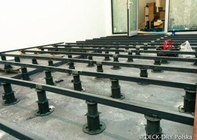 Budowa Tarasu Drewnianego na wspornikach mazowieckie Deck-Dry