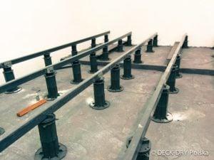 Budowa Tarasu Drewnianego Wsporniki Deck-Dry