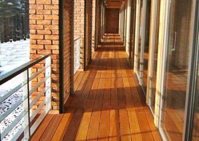 Budowa Tarasu loggia / taras DECK-DRY