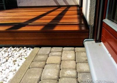 Deska Gładka na podeście tarasu - Deck-Dry poznań