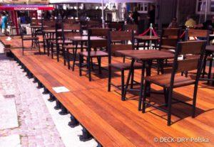 Deski Tarasowe Desk-Dry Restauracja