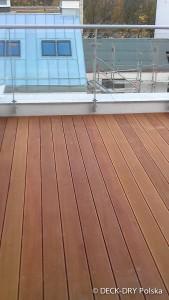 Deski Tarasowe na balkonie Katowice Deck-Dry