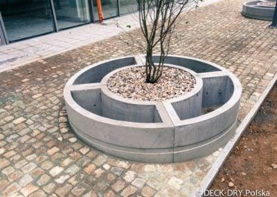 Donica Betonowa mała architektura ogrodowa