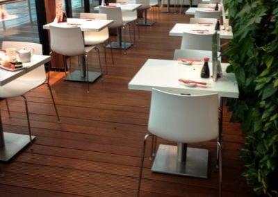 Drewniane Deski Podłogowe w Restauracji mazowieckie