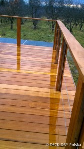 Drewno Egzotyczne Balustrady i Taras - Deck-Dry