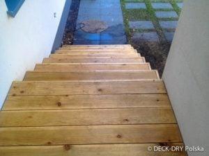 Egzotyczne Drewno Deska ryflowana na schodach Deck-Dry