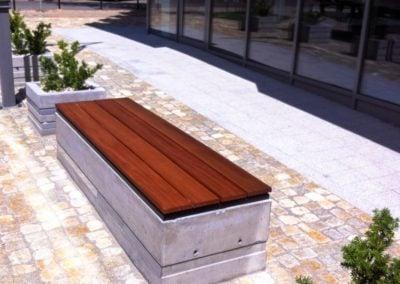 Ławki drewniane typowe i indywidualne Deck-Dry