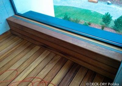 Ławki z drewne Iroco Deck-Dry tarasy