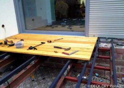 Montaż Deski podłogowej z drewna egzotycznego Deck-Dry wielkopolska