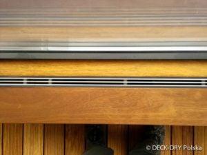 ukryta kurtyna powietrzna w deskach iroco