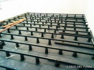 Montaż Legarów budowa tarasu drewnianego Deck-Dry Polska