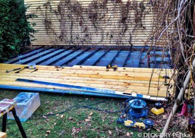 Montaż - Modrzew syberyjski drewno na taras Deck-Dry
