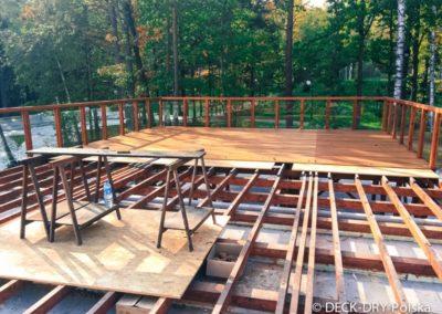 Montaż - taras na konstrukcji drewnianej mazowieckie