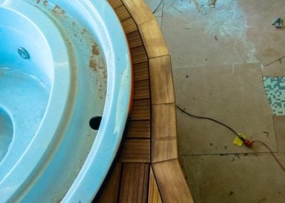 Montaż Tarasu Deck-Dry basen hotelowy
