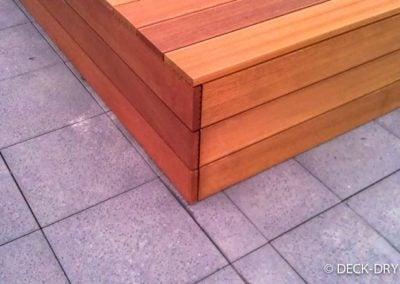Narożnik skrzyni z desek drewnianych - Katowice