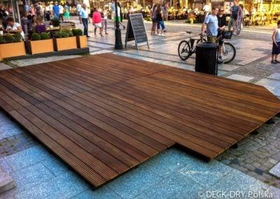 Ogródki drewniane tarasy montaże Deck-Dry dolnośląskie