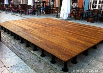 Ogródki drewniane tarasy montaże Deck-Dry Kraków