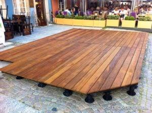 Ogródki drewniane tarasy montaże Deck-Dry Wrocław