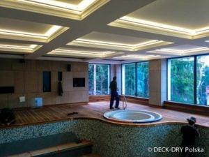 Podest Drewniany - basen w Hotelu
