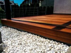 Podest tarasowy - montaż tarasów drewnianych śląkie