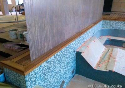 Podłoga z drewna egzotycznego Deck-Dry