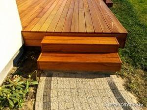 drewno olejowane na taras