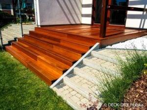 montaż deski tarasowej na schodach twojego ogrodu