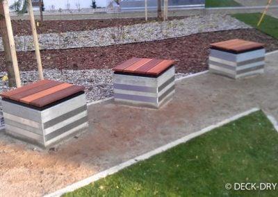 Skrzynie Tarasowe z desek Deck-Dry Śląsk