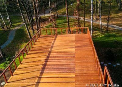 Taras Zewnętrzny w Lesie Deck-Dry Wrocław