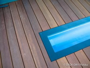 wykończenie desek tarasowych bangkirai 12x120 mm