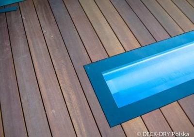 Tarasy drewniane Detal montażowy Deck-Dry