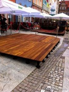 Tarasy Drewniane Ogródki montaż Deck-Dry Gdańsk