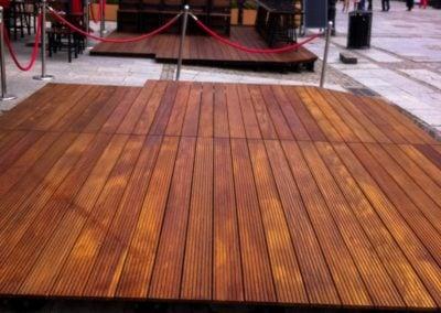 Tarasy Drewniane Ogródki montaż Deck-Dry pomorskie