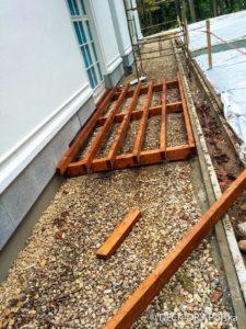 Tarasy Poznań - montaż tarasu na budowie Deck-Dry