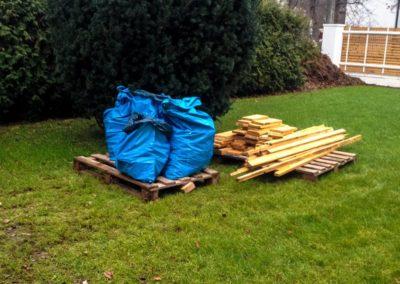 Transport Desek na budowę -porządek na budowie Deck-Dry mazowieckie