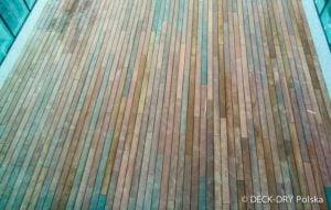 Układanie podłogi Drewnianej Zewnętrzenj Deck-Dry