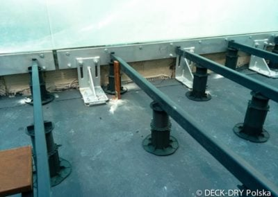 Wsporniki pod budowę tarasu Drewnianego Deck-Dry