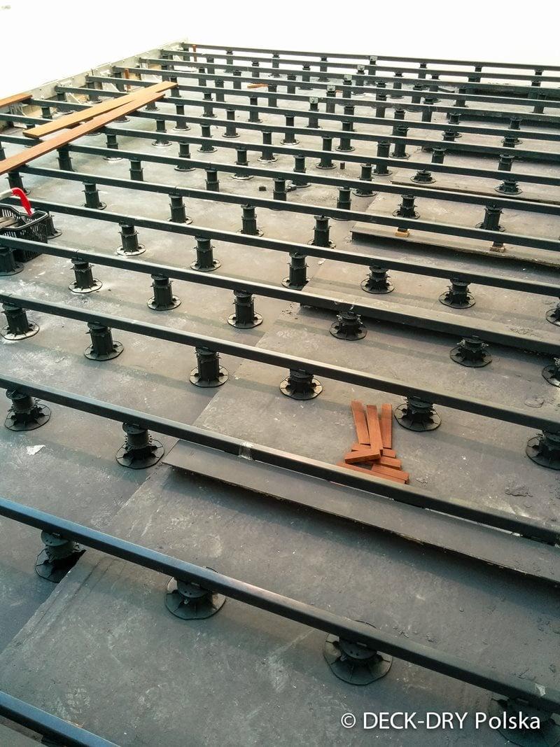 Wsporniki Tarasowe - Taras Wykonanie Deck-Dry