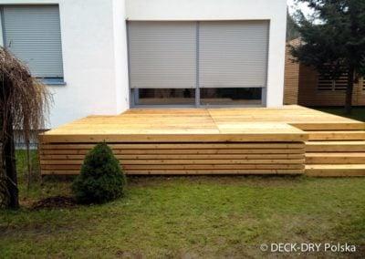 Zabudowa Tarasu Drewnianego Deck-Dry Poznań